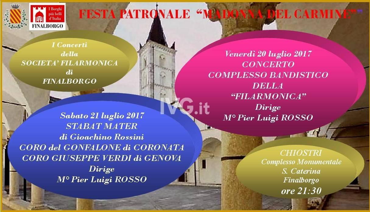 La musica nei festeggiamenti della Madonna del Carmine