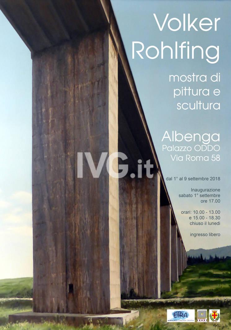 VOLKER ROHLFING; MOSTRA DI PITTURA E SCULTURA
