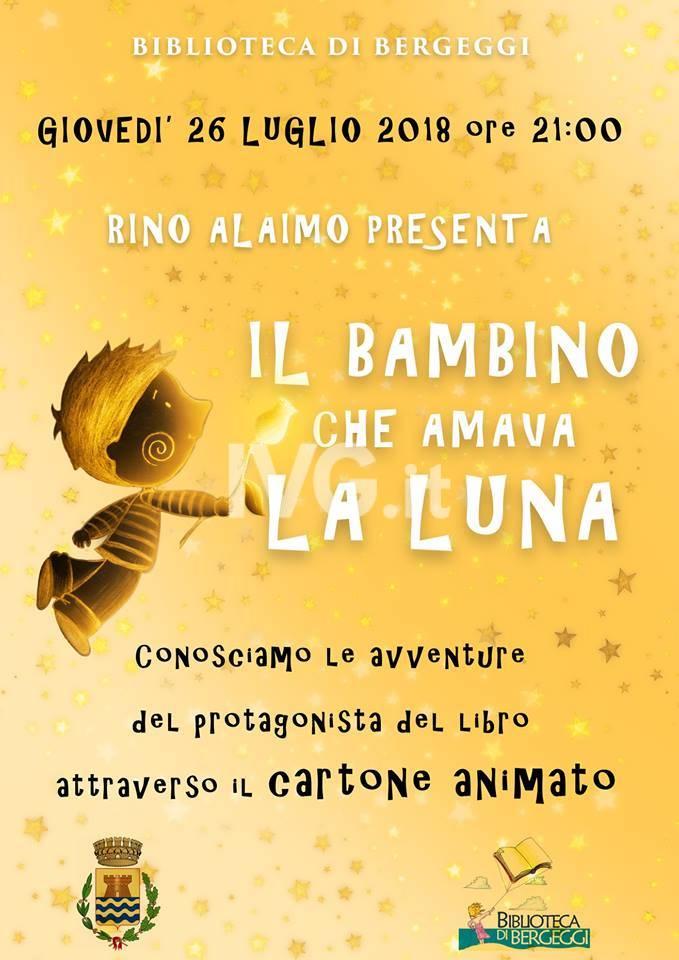 Rino Alaimo presenta \' Il bambino che amava la luna\'