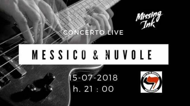 Stasera ad Albenga: Missing Ink live @ARCI Messico & Nuvole
