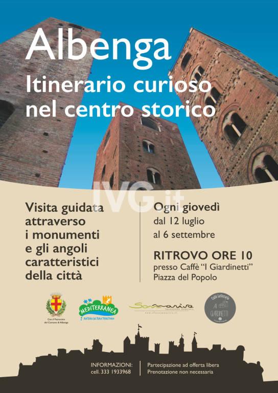 Albenga: itinerari curiosi