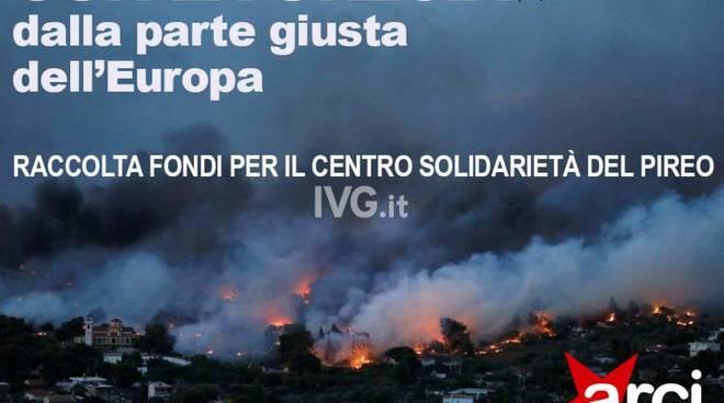 Solidarietà alla Grecia: ARCI, PD ed Art. 1 - Mdp  a sostegno delle popolazioni colpite dagli incendi