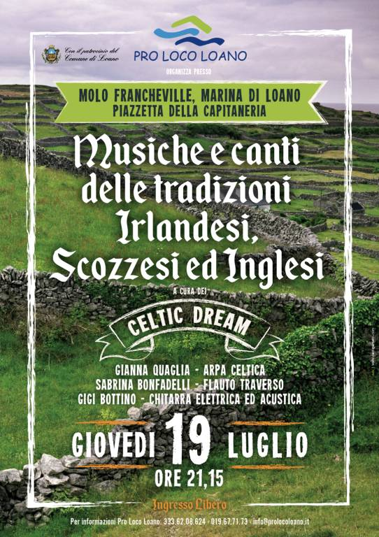 Celtic Dream concerto Loano
