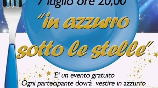 """Cena condivisa """"In Azzurro sotto le Stelle"""" Boissano"""