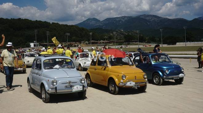 Chisura Meeting Internazionale Fiat 500 2018