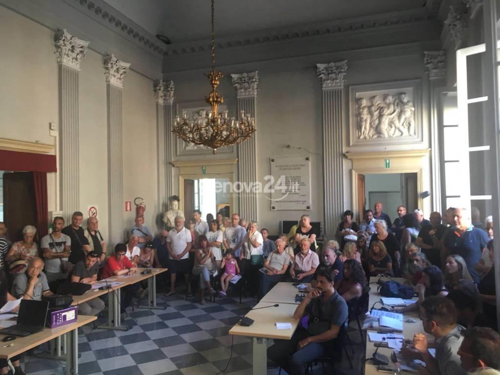 commissione su depositi petroliferi a Sampierdarena