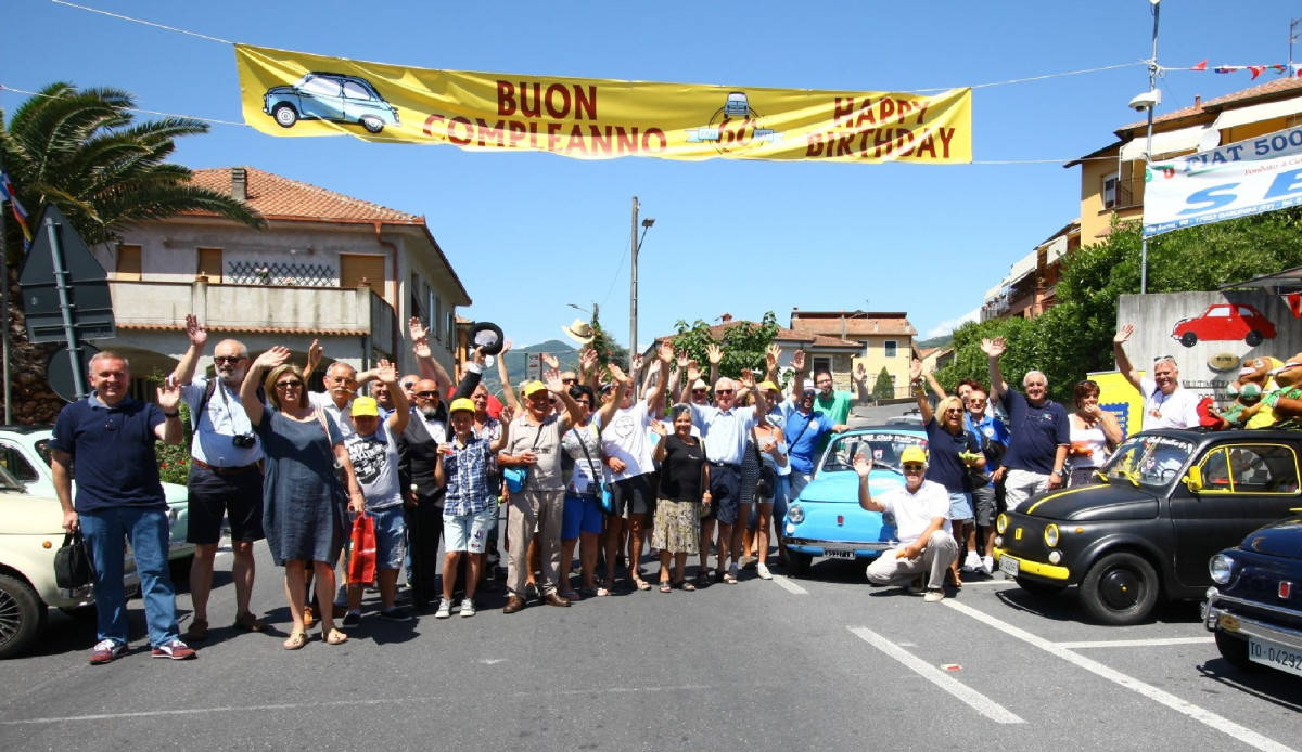 Compleanno Fiat 500