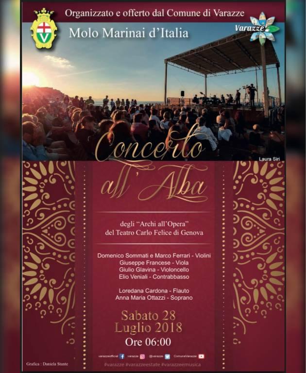 """""""Concerto all'Alba"""" Archi all'Opera Teatro Carlo Felice Varazze"""