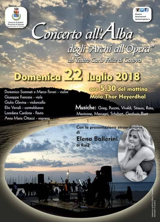Concerto all'Alba Archi del Teatro Carlo Felice Andora