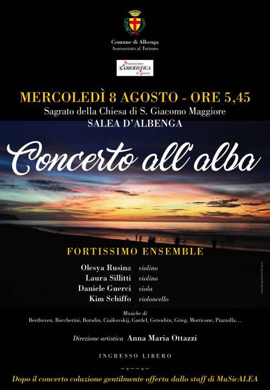 Concerto all'Alba Salea d'Albenga