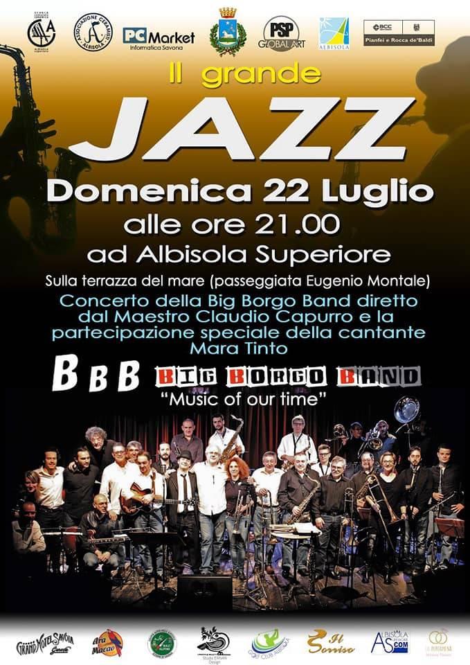 Concerto Big Borgo Band Albisola Superiore 2018