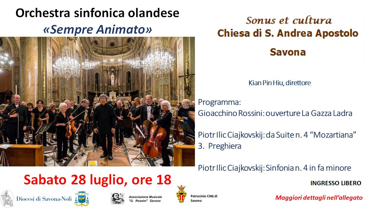 """Concerto d'estate"" Orchestra Sinfonica Olandese Savona"