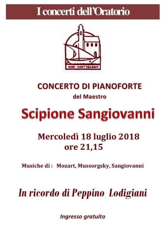 Concerto pianista Scipione Sangiovanni