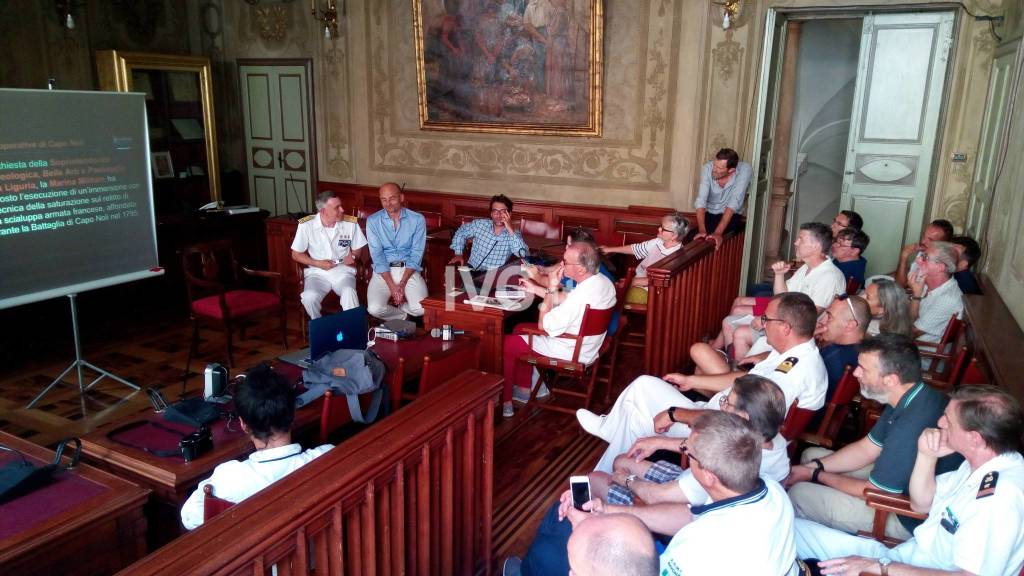 Conferenza Stampa Nave Anteo