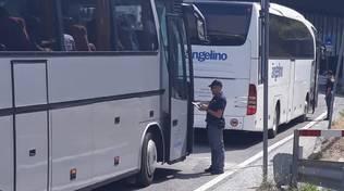 Controlli della polizia ad Alassio