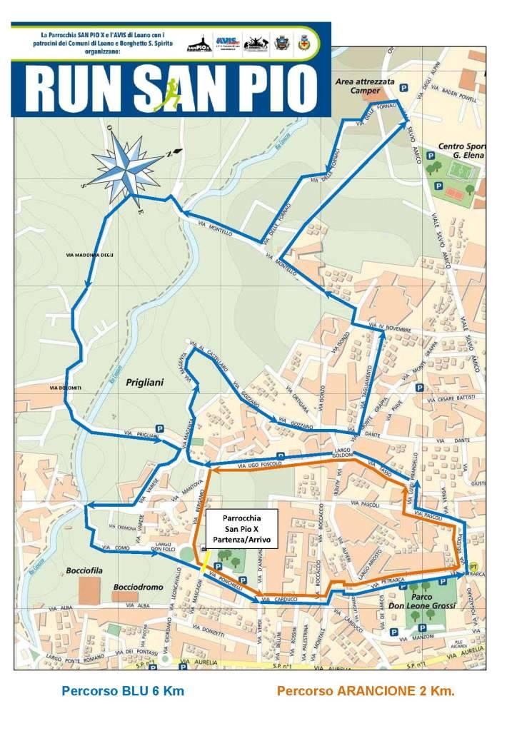 "Corsa non competitiva ""Run San Pio"" 2018"