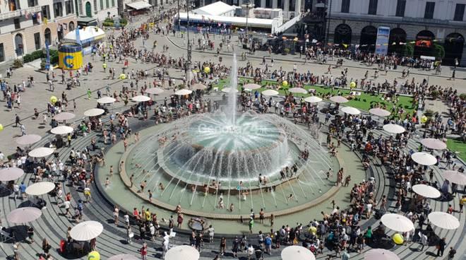 Costa Zena Festival, Genova in festa