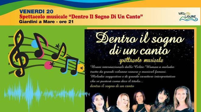 """""""Dentro il Sogno di un Canto"""" - Spettacolo Musicale"""