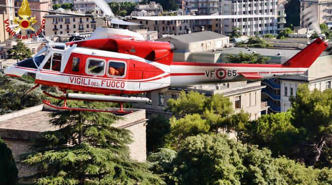 Elicottero Drago Vigili del Fuoco