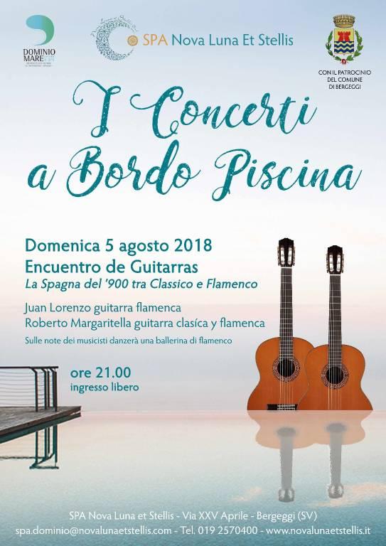 """Encuentro de Guitarras"" concerto Bergeggi"