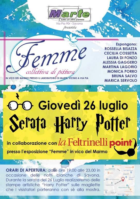Femme Serata a tema Harry Potter