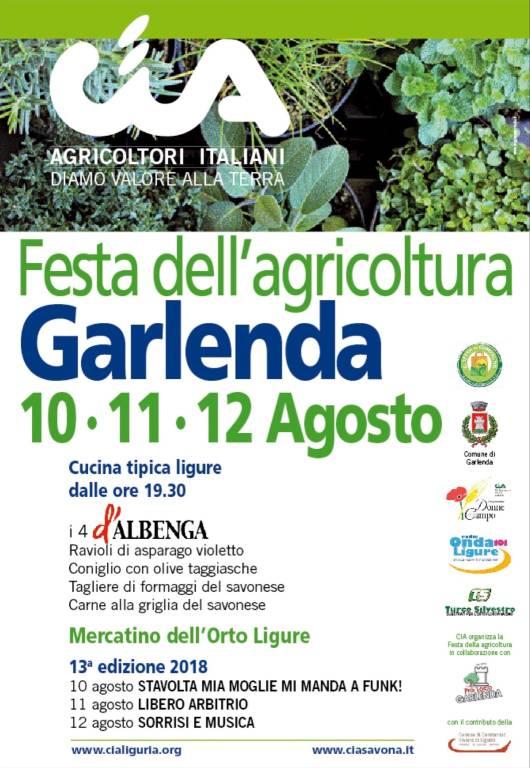 Festa Agricoltura Garlenda 2018