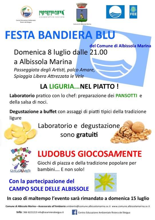 Festa Bandiera Blu 2018 Albissola Marina