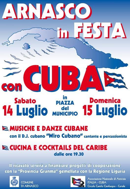 Festa Cubana Arnasco