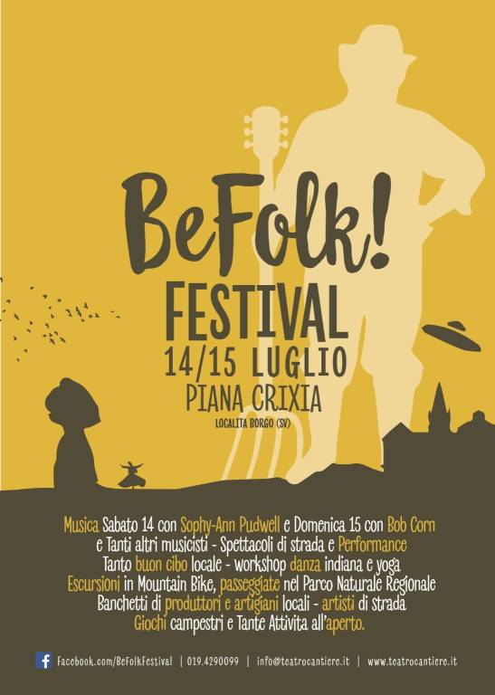 Festival Be Folk Piana Crixia 2018