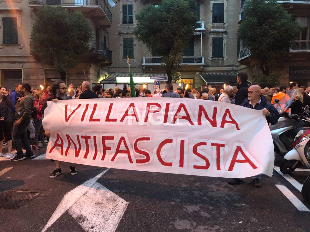 Fiaccolata antifascista