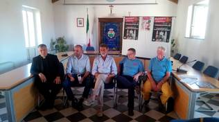 foto conferenza festeggiamenti per il 500° Anniversario della Filarmonica Moretti