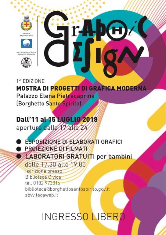 """""""Graphic Design"""" - Progetti di grafica moderna"""