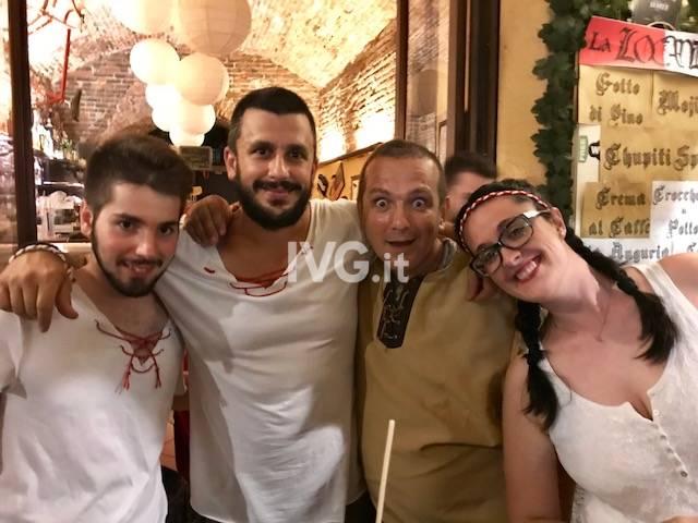 I volti del Palio Storico dei Rioni 2018 ad Albenga