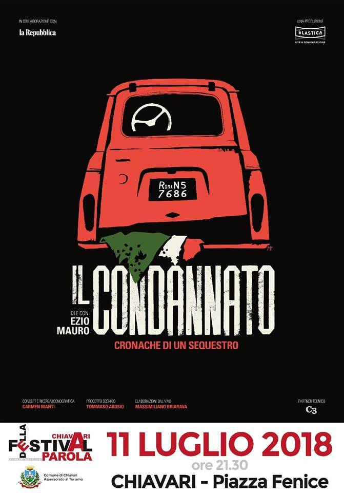 """""""Il condannato"""" Ezio Mauro"""