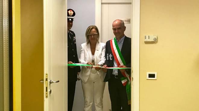 Inaugurazione stanza rosa Albenga