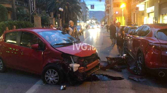 incidente pietra ligure auto matteo