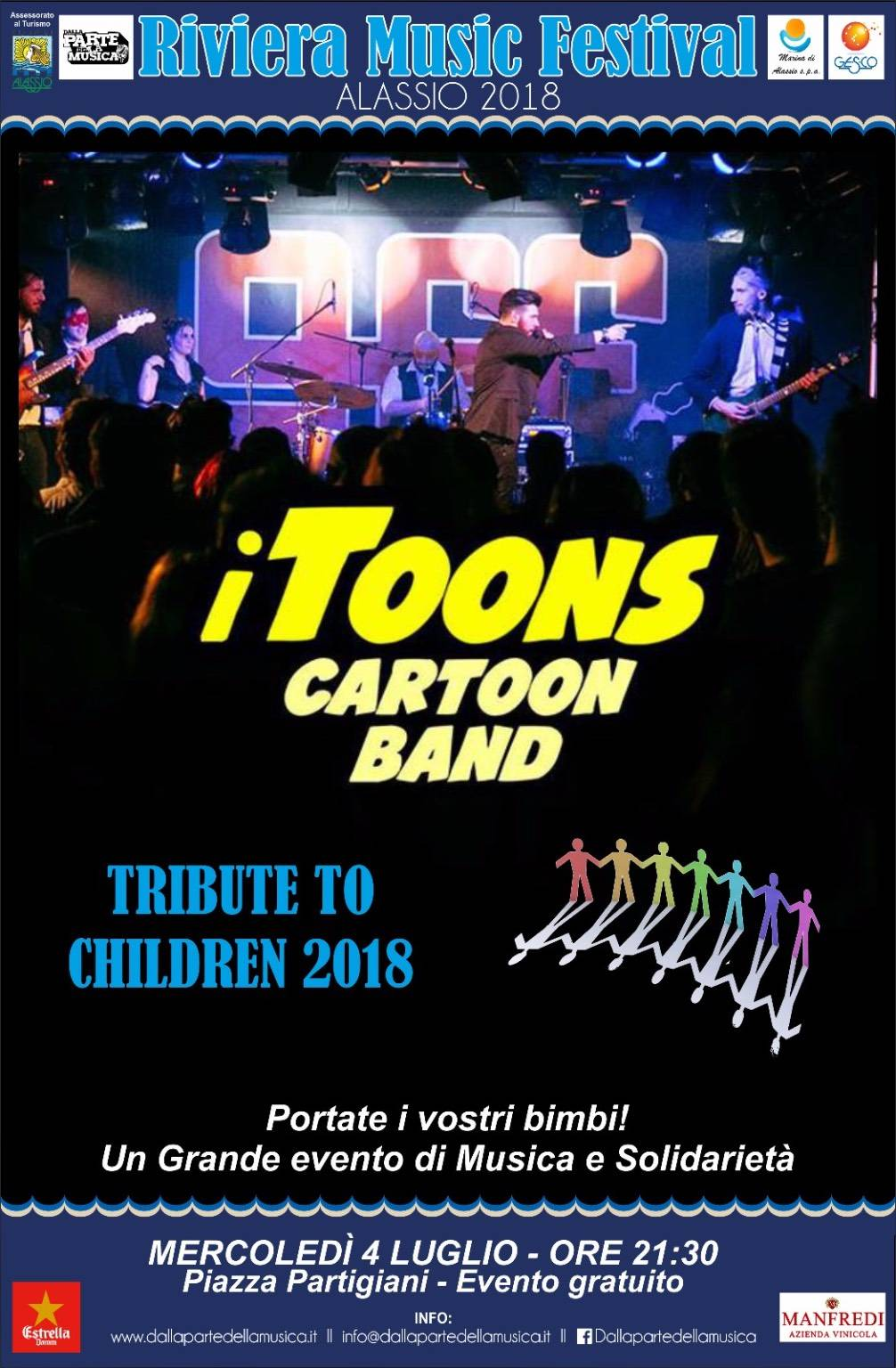 Itoons Cartoon Band Riviera Music Festival