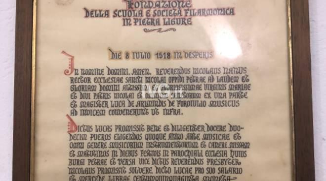 """La banda più antica d'Italia: la società filarmonica """"Guido Moretti"""" di Pietra Ligure"""