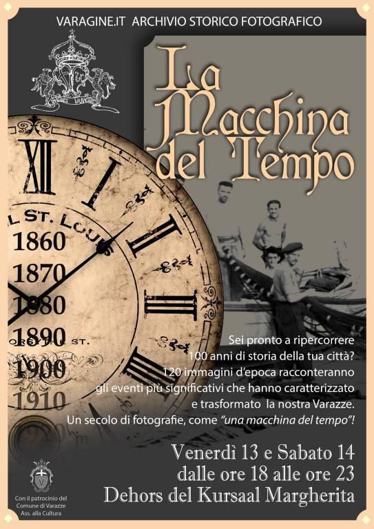 """""""La Macchina del Tempo"""" mostra Varazze"""