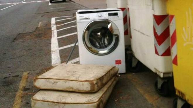 lavatrice materasso