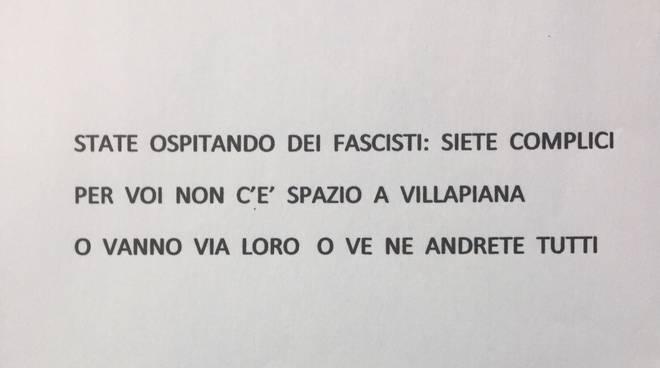 lettera casapound antifascisti