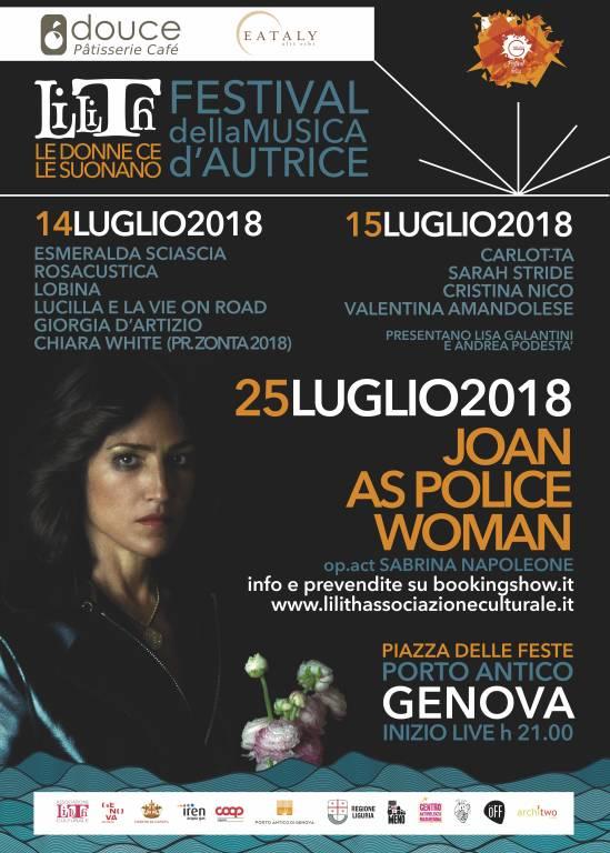 Lilith Festival della Musica d'Autrice 2018