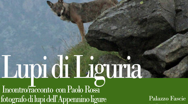 Lupi di Liguria al MuSel - Incontro/racconto fotografo Paolo Rossi