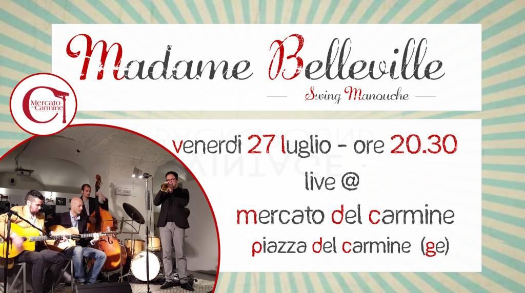 Madame Belleville Mercato del Carmine Genova