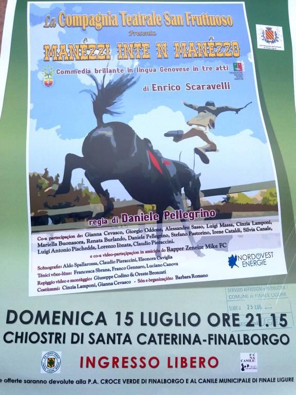 """""""Manezzi inte n manezzo"""" Compagnia Teatrale San Fruttuoso Genova"""