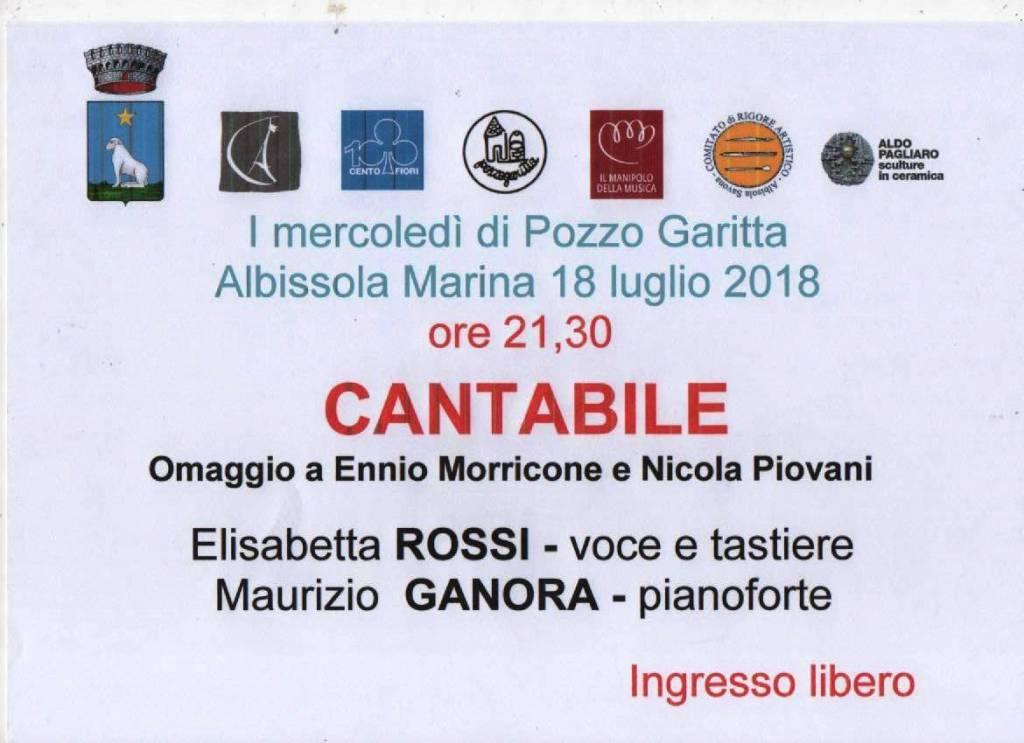 """Mercoledì Pozzo Garitta"" Elisabetta Rossi e Maurizio Ganora"