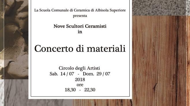 """Mostra collettiva d'arte """"Nove Scultori Ceramisti"""""""
