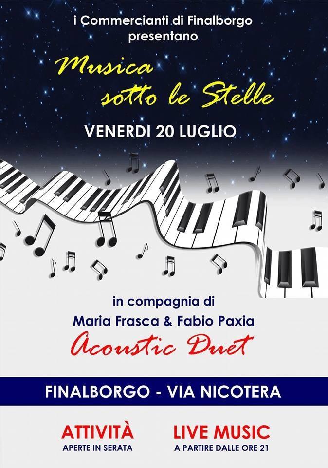"""""""Musica sotto le Stelle"""" Finalborgo"""