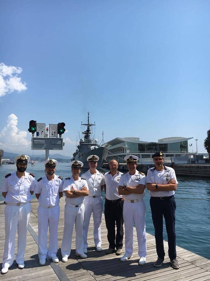 Nave Scirocco nel porto di Savona
