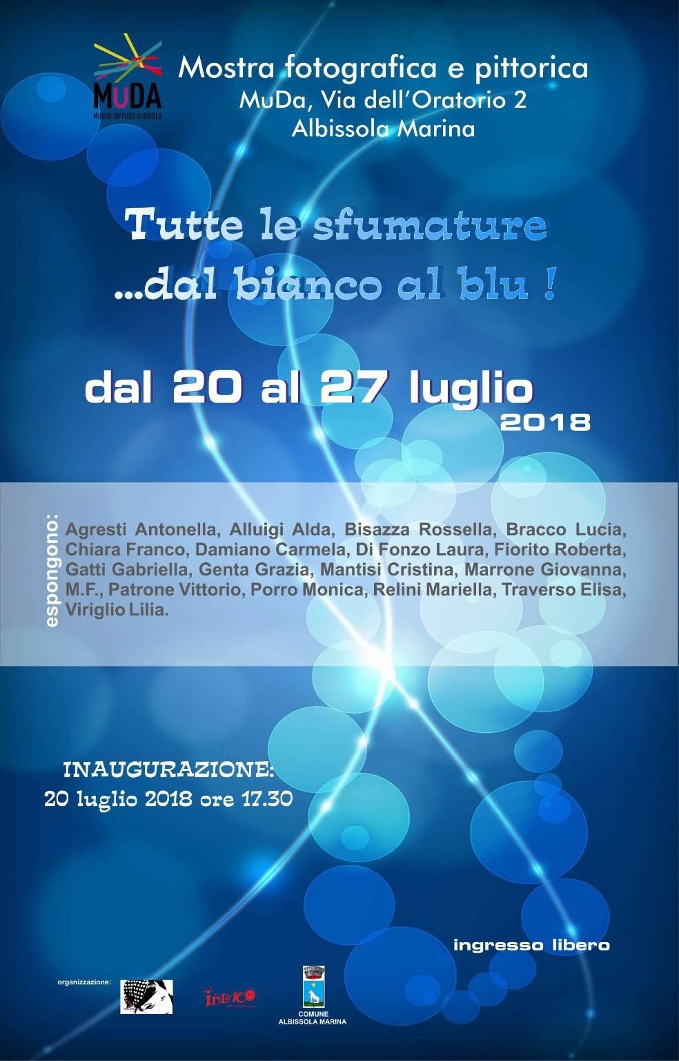 Notte Bianco&Blu 2018 Albissola Marina